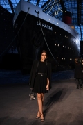 Leila Bekhti Chanel 2018-19 Cruise Collectionin Paris . ph by Pascal Le Segretain