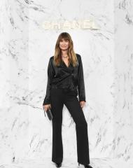 Caroline de Maigret Wearing Chanel of Cruise 2017-18 show in Chengdu
