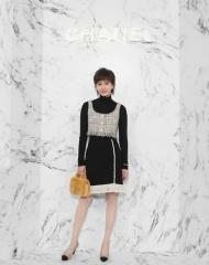 Liu Shishi 刘诗诗; Wearing Chanel of Cruise 2017-18 show in Chengdu
