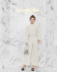 Sandra Ma 马思纯 Wearing Chanel of Cruise 2017-18 show in Chengdu