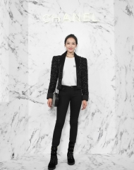 Victoria Song 宋茜 Wearing Chanel of Cruise 2017-18 show in Chengdu宋茜