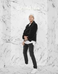 William Chan Wai 陳偉霆 Wearing Chanel of Cruise 2017-18 show in Chengdu