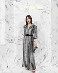 Xin Zhi Lei 辛芷蕾 Wearing Chanel of Cruise 2017-18 show in Chengdu