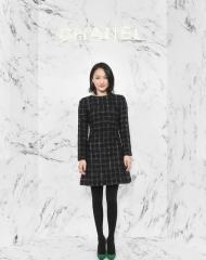 Zhou Xun 周迅 Wearing Chanel of Cruise 2017-18 show in Chengdu