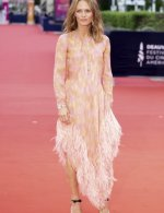 Vanessa Paradis wore Chanel at 46th Deauville American Film Festival opening ceremony - photo by Francois G. Durand