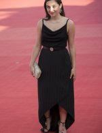 Luana Bajrami wore Chanel at Closing ceremony 46th Deauville American film festival