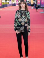 Mya Bollaers wore Chanel at Closing ceremony 46th Deauville American film festival