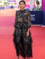 Zita Hanrot wore Chanel at Closing ceremony 46th Deauville American film festival