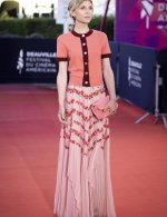 Clémence Poésy Resistance wore Chanel at  ceremony 46th Deauville American film festival