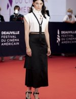 Astrid Berges-Frisbey wore Chanel at  ceremony 46th Deauville American film festival