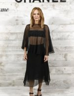 Vanessa Paradis . Chanel and Madame Figaro dinner in honor the ceremony 46th Deauville American film festival