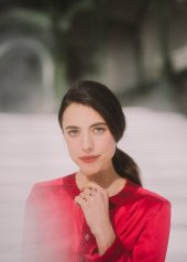 Margaret Qualley special guests at Chanel Fashion Show FW2021