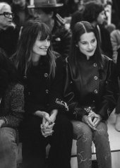 Caroline de Maigret & Rebecca Marder special guests at Chanel Fashion Show FW2021