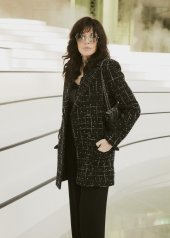 Isabelle Adjani special guests at Chanel Fashion Show FW2021