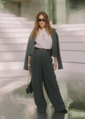Maggie Rogers special guests at Chanel Fashion Show FW2021