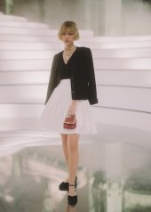 Grace Vanderwall special guests at Chanel Fashion Show FW2021