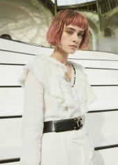Sasha Belyaeva special guests at Chanel Fashion Show FW2021