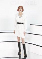 Sasha Belyaeva special guests at Chanel Fashion Show FW2021 . photo © by Julien Hekimian