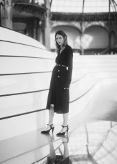 Christa Theret special guests at Chanel Fashion Show FW2021