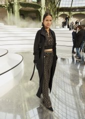 Mati Diop special guests at Chanel Fashion Show FW2021