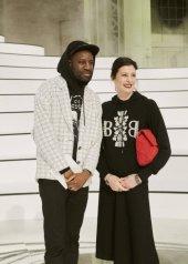 Abd Al Malik & Marie-Agnès Gillot special guests at Chanel Fashion Show FW2021