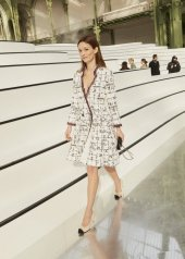 Audrey Marnay special guests at Chanel Fashion Show FW2021