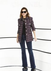 Virginie Ledoyen special guests at Chanel Fashion Show FW2021 . photo © by Julien Hekimian