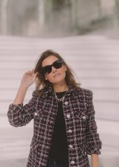 Virginie Ledoyen special guests at Chanel Fashion Show FW2021