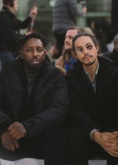 Kim Chapiron & Ladj Ly special guests at Chanel Fashion Show FW2021