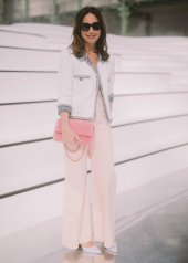 Elsa Zylberstein special guests at Chanel Fashion Show FW2021
