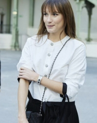 Ana Girardot Special guests Spring-Summer 2018 Chanel Haute Couture Collection