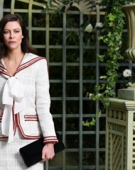 Anna Mouglalis Special guests Spring-Summer 2018 Chanel Haute Couture Collection