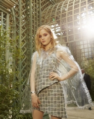 Ellie Bamber Special guests Spring-Summer 2018 Chanel Haute Couture Collection