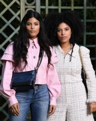 Special guests Spring-Summer 2018 Chanel Ibeyi Haute Couture Collection