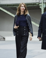 Sofia Coppola Special guests Spring-Summer 2018 Chanel Haute Couture Collection