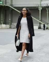 Yara Shahidi Special guests Spring-Summer 2018 Chanel Haute Couture Collection