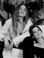 Izia Higelin and Alma Jodorowsky - Chanel Haute Couture Spring Summer 2021 Family Portraits Book Paris 2021 © Anton Corbijn