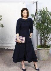 Elsa Zylberstein in Chanel Spring Summer 2020 Haute Couture (photo by Julien M. Hekimian)