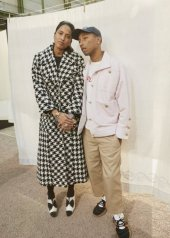 Helen and Pharrell Williams in Chanel Spring Summer 2020 Haute Couture