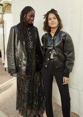 Mati Diop and Mama Sane in Chanel Spring Summer 2020 Haute Couture