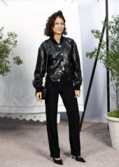 Mati Diop in Chanel Spring Summer 2020 Haute Couture (photo by Julien M. Hekimian)