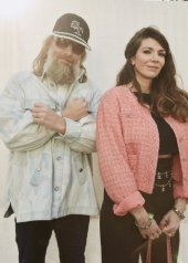 Sebastien Tellier and Amandine de la Richardiere