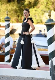 """Penelope Cruzwore ChanelL at the Opening Ceremony of the 78th Venice International Film Festival - """"Madres Paralelas"""" Première. photo by Jacopo Raule"""