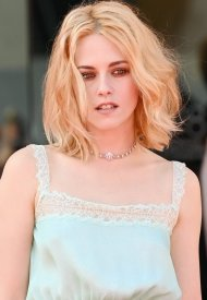 """Kristen Stewart  wore Chanel at the """"Spencer"""" Première during the 78th Venice International Film Festival  . photo by Daniele Venturelli"""