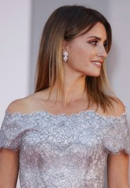 Penelope Cruz - Celebrities wearing Chanel during the closing ceremony of the 78th Venice International Film Festival . photo by John Phillips