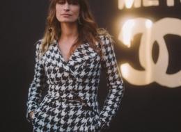 Caroline de Maigret  . Chanel Paris New York 2018-19 Metiers d'art Replica show in Seoul