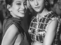 Ana Ji Hye Park . Chanel Paris New York 2018-19 Metiers d'art Replica show in Seoul