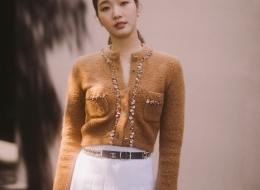 Go Eun Kim - Chanel Paris New York 2018-19 Metiers d'art Replica show in Seoul