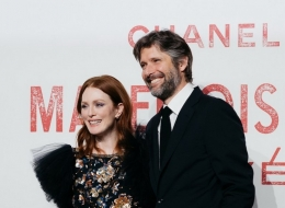 Mademoiselle Priv' Shanghai_18 April 2019_Julianne MOORE and Bart FREUNDLICH