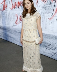 Jenna Coleman in Chanel - Summer Party London (ph by Darren Gerrish)